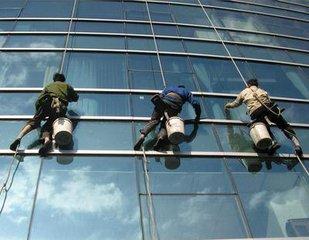 爱普科斯电子(孝感)有限公司主、附楼玻璃清洗